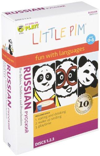 Little Pim 3-Pak (Russian)