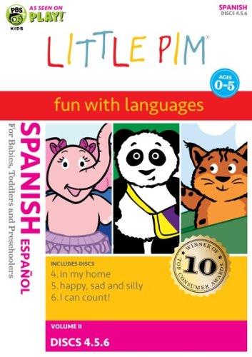 Little Pim: 3-Pak Volume II (Spanish)