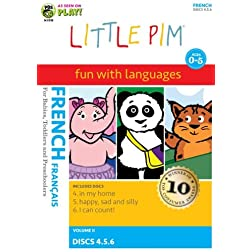 Little Pim: 3-Pak Volume II (French)