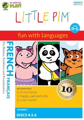 Little Pim: 3-Pak Volume II (French)