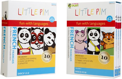Little Pim: 6-Pak Volume I and Volume II (French)