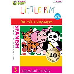 Little Pim: Happy, Sad and Silly (Spanish)