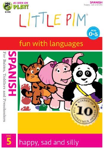 Little Pim: Happy, Sad and Silly (Spanish)