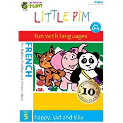 Little Pim: Happy, Sad and Silly (French)