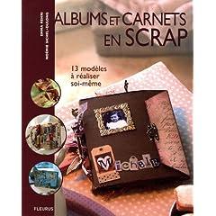 Albums et carnets en scrap