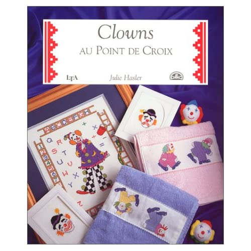 Clowns au point de croix