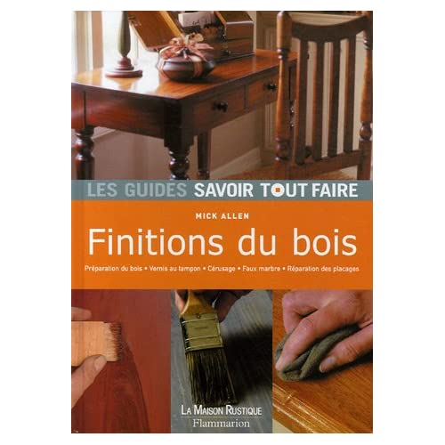Finitions du bois
