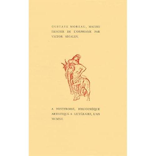 Gustave Moreau, Maître imagier de l