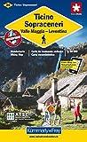 Tessin Sopraceneri: Valle Maggia- Leventina. Wanderkarte 1:60 000. Neu mit Index