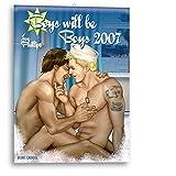 Boys will be Boys 2007. Wandkalender.