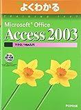 よくわかるMicrosoft Office Access 2003マクロ/VBA入門