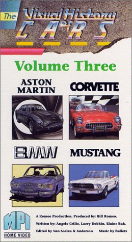 The Visual History of Cars, Vol. 3 (Aston Martin, Corvette, BMW, Mustang)
