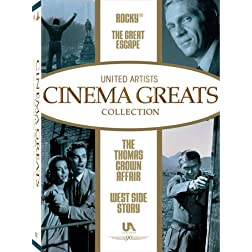 United Artists Cinema Greats Collection, Set 2 (The Great Escape / Rocky / West Side Story / The Thomas Crown Affair)