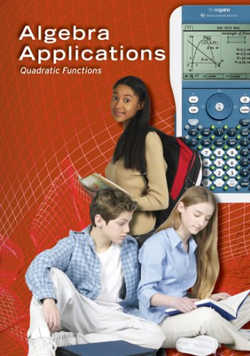 Algebra Applications: Quadratic Functions