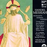 Capa de Messiah Highlights