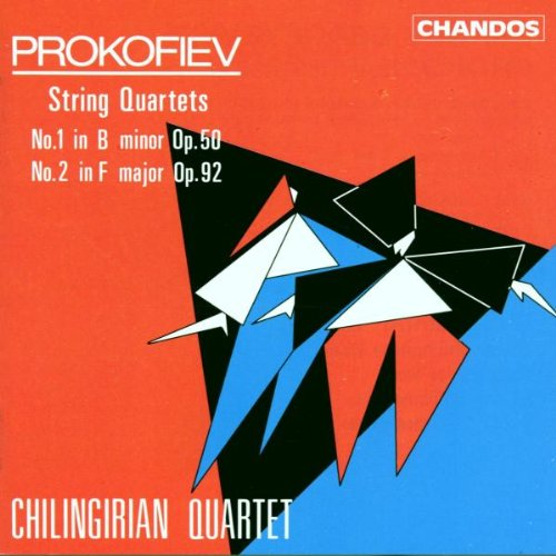 String Quartets no. 1 in B minor, op. 50 & no. 2 in F major, op. 92