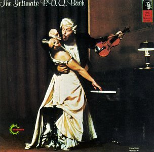 The Intimate P.D.Q. Bach by Peter Schickele, Arthur Weisberg, Peter Rosenfeld, P.D.Q.  [pseudonym of Peter Schickele] Bach,  and John Ferrante