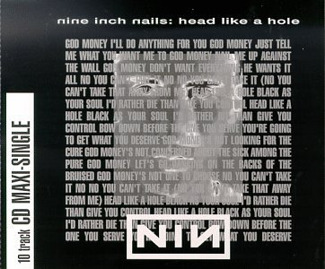 Nine Inch Nails - Head Like A Hole (Single) - Zortam Music