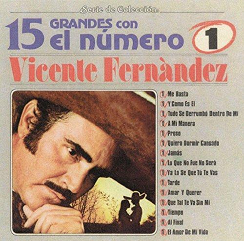 Vicente Fernandez - 15 Grandes Con El Numero 1 - Zortam Music