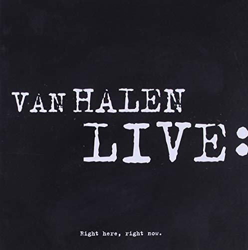 Van Halen - LIVE Right Here, Right Now - Zortam Music