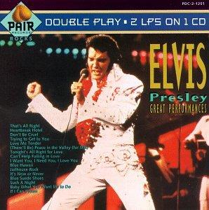 Elvis Presley - The Great Performances - Zortam Music