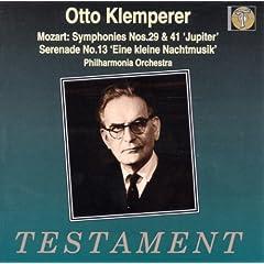 Sinfonien 29, 41 / Kl.Nachtmusik