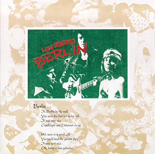 Lou Reed - Berlin (1973) ***** - Zortam Music