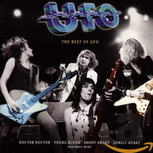Best Of UFO: Gold Collection by UFO album cover
