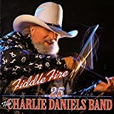 Cubierta del álbum de Fiddle Fire: 25 Years of the Charlie Daniels Band