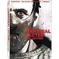 The Hannibal Lecter Collection (Manhunter / The Silence of the Lambs / Hannibal)