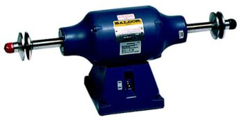 Baldor 332B 3/4 Horsepower 1800 RPM Heavy Duty Industrial Buffer.