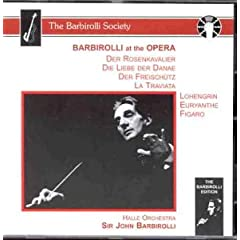 Barbirolli At The Opera (Aufnahmen 1946, 1951, 1954 und 1955)