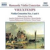 Henri Vieuxtemps Violin Concertos at Amazon