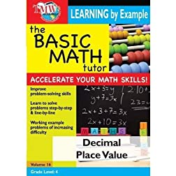 The Basic Math Tutor: Decimal Place Value