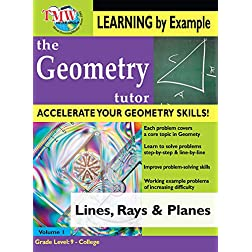 Lines Rays & Planes: Geometry Tutor