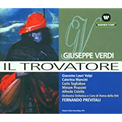 Verdi: Der Troubador (Il Trovatore) (Aufnahme 1951)