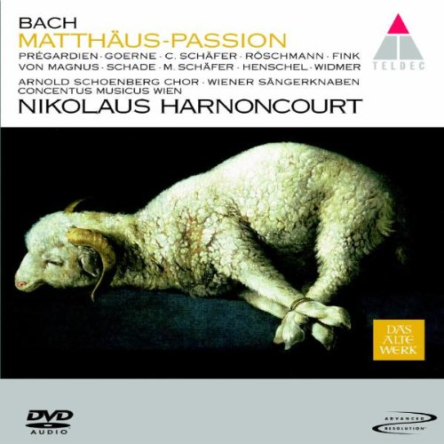 Bach - St. Matthew Passion (DVD Audio)