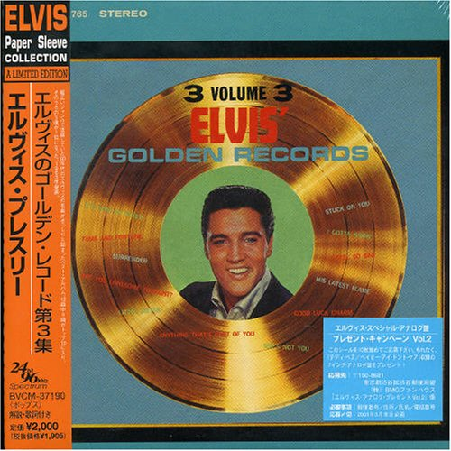 Elvis Presley - Golden Records 3 - Zortam Music