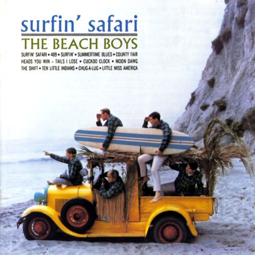 Surfin' Safari/Surfin' U.S.A. by The Beach Boys album cover
