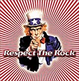Copertina di album per Respect the Rock
