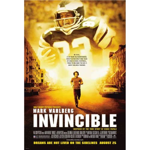 Poster art for Disney film Invincible