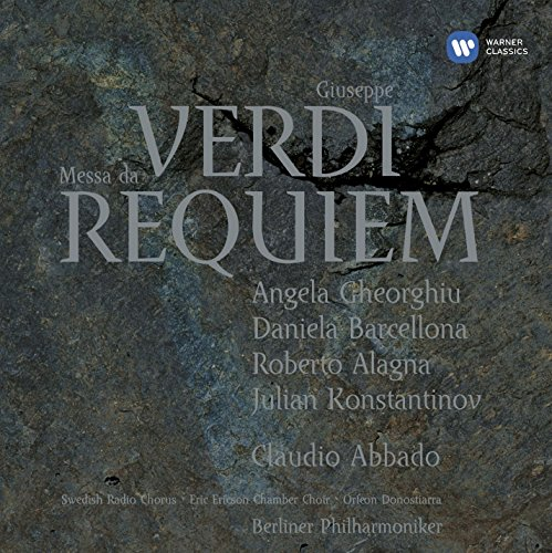 Missa da Requiem (Berliner Philharmoniker, Swedish Radio Chorus, Eric Ericson Chamber Choir, feat. conductor: Claudio Abbado)
