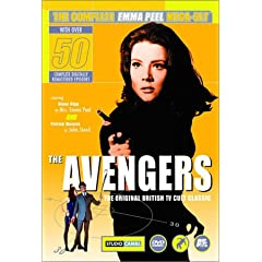 The Avengers Dvds