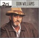 album art to 20th Century Masters: The Millennium Collection: The Best of Don Williams, Volume 2