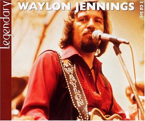 WAYLON JENNINGS - Legendary - 3 Cd