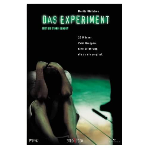 das experiment a review Audience reviews for das experiment (the experiment) 20 men volunteer to participate in a lab experiment in a simulated prison at first the men have a good time with.