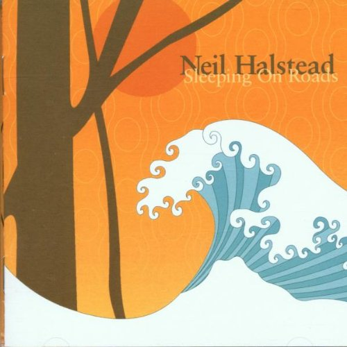 Sleeping on Roads by Neil Halstead album cover