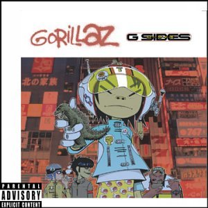 G-Sides by Gorillaz album cover