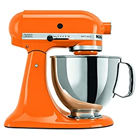 KitchenAid Artisan Series 5-Quart Mixer, Tangerine