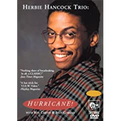 Herbie Hancock Trio - Hurricane (DVD) cover